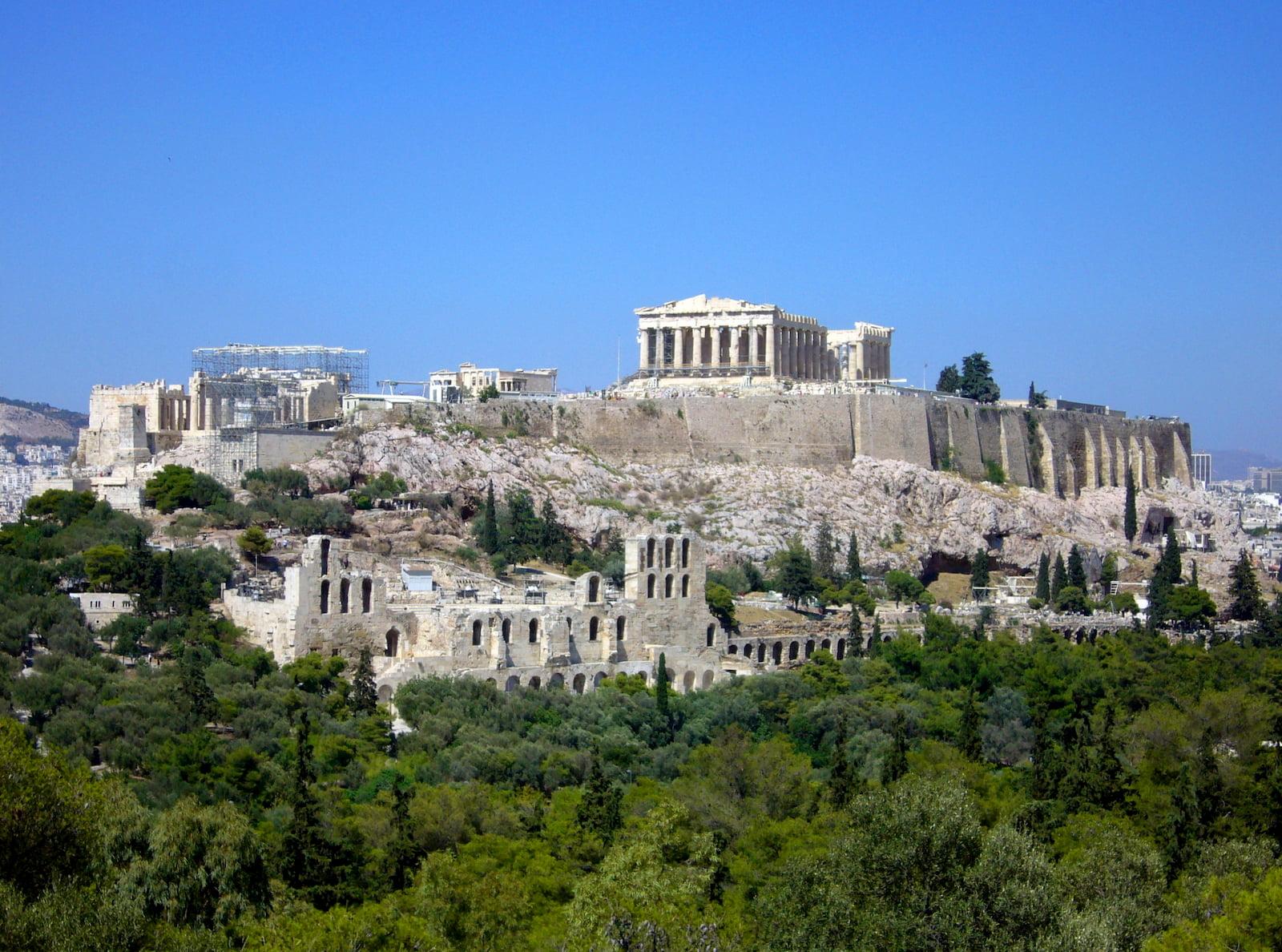 Акрополь, Афины. Сердце, и главная достопримечательность Греции