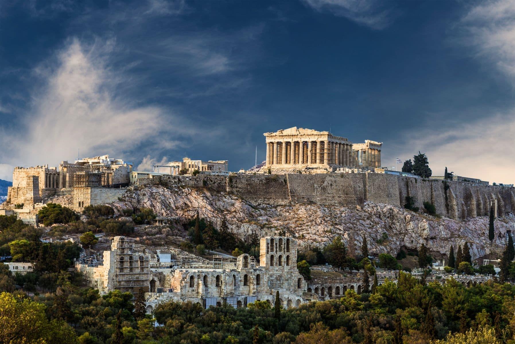 Афины. Акрополь, Парфенон