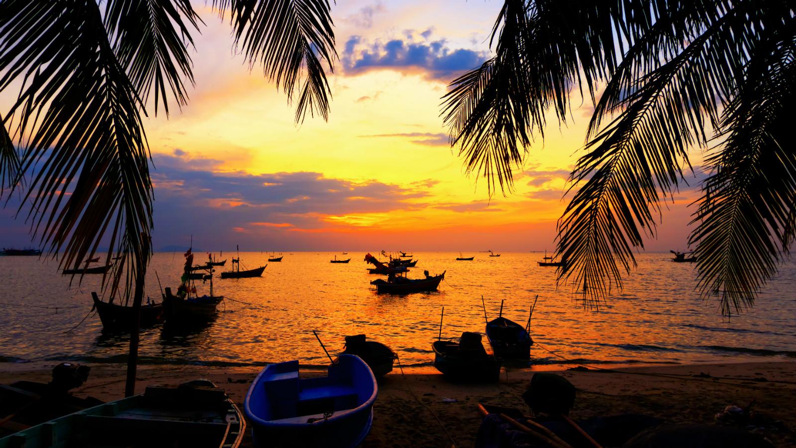 Один из множества пляжей в Гоа