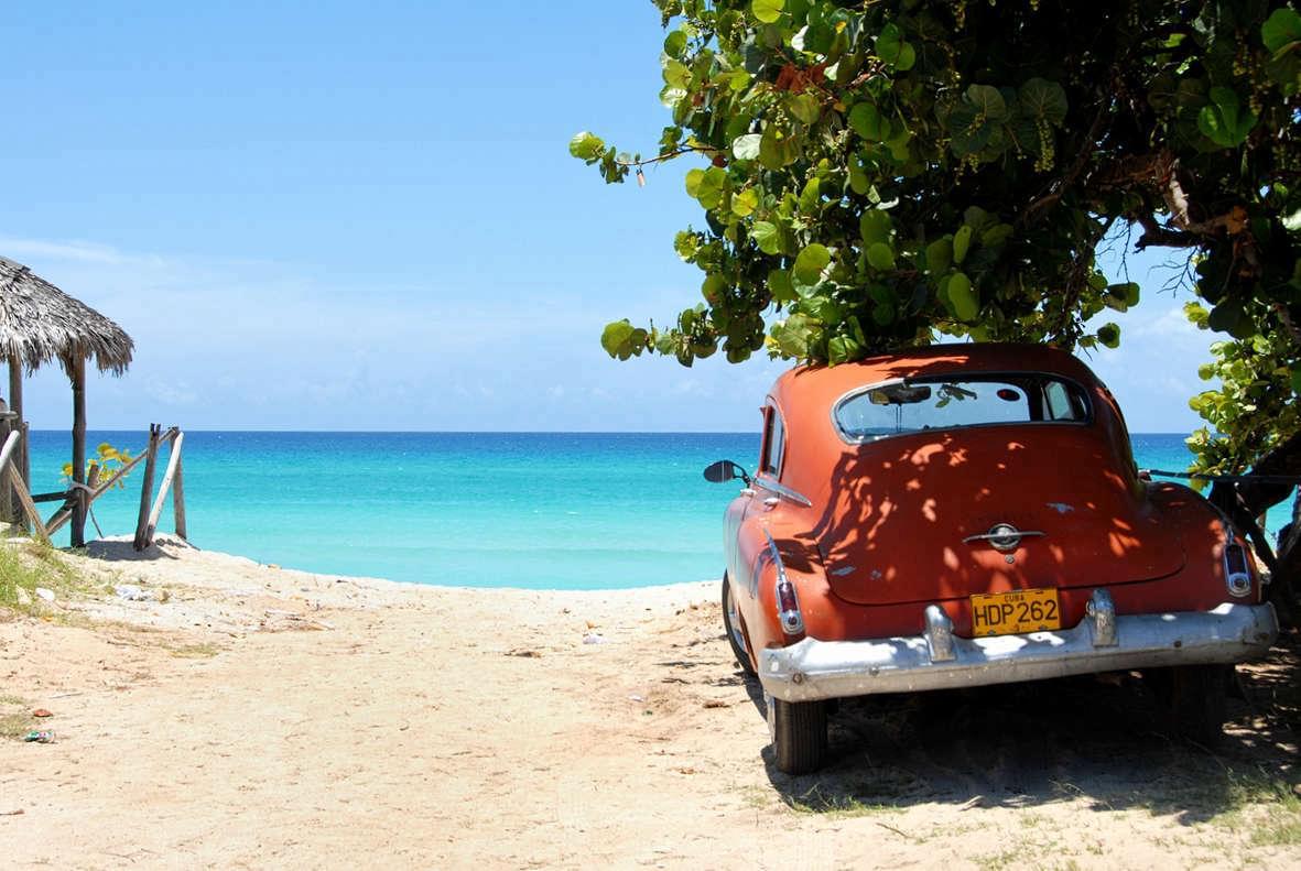 Пляж Гаваны в июле