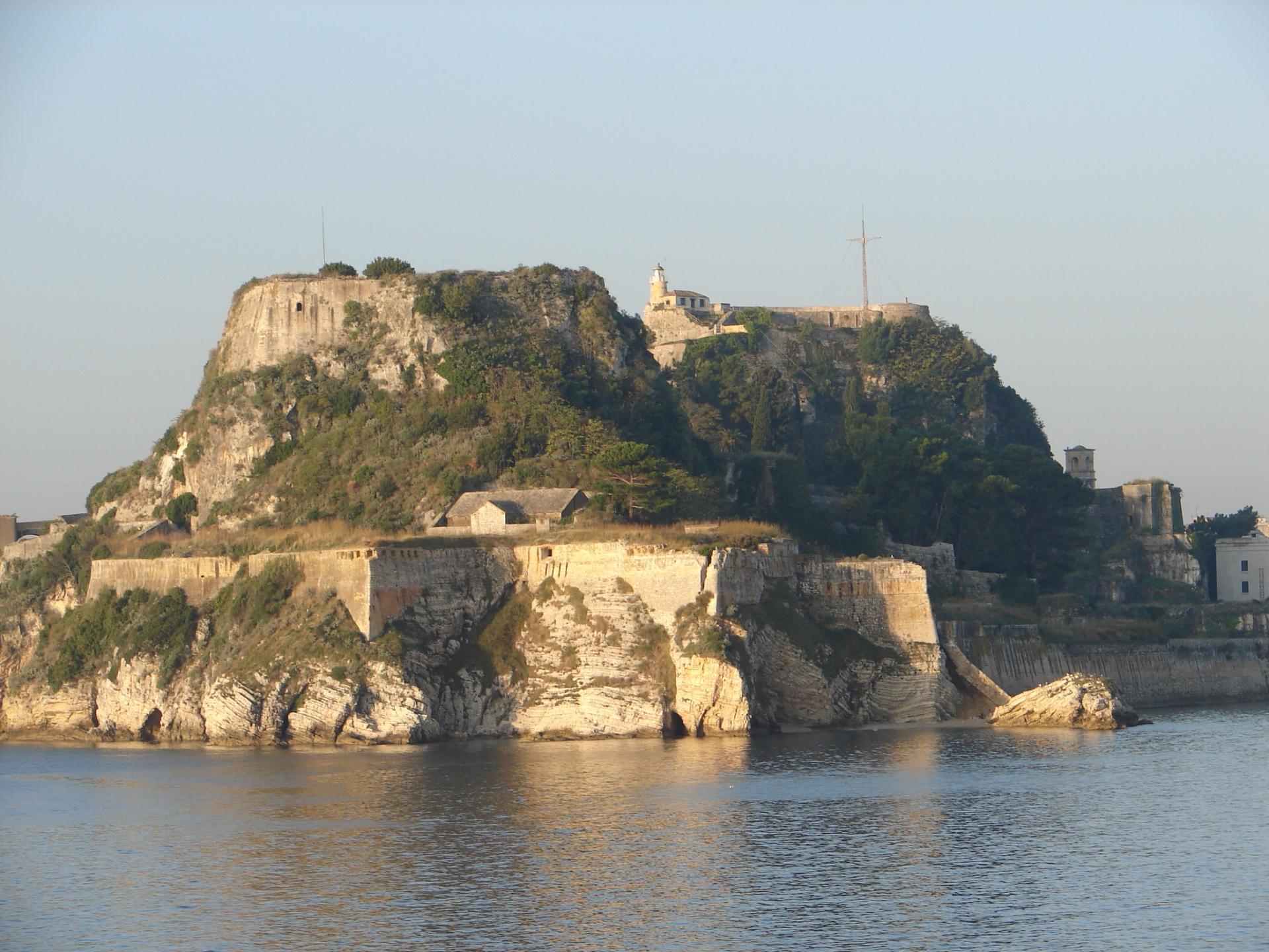 Остров Корфу Греция.