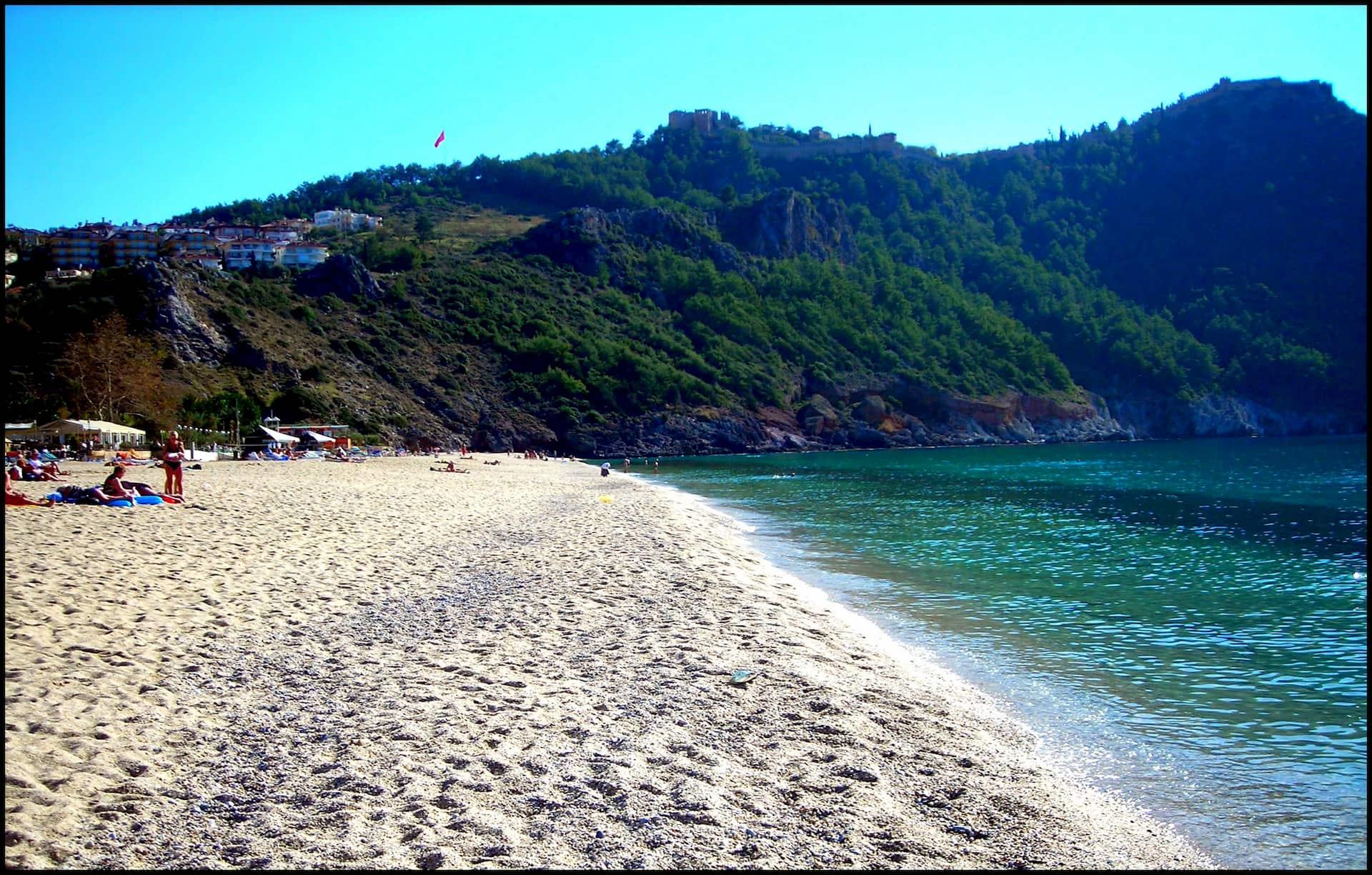 Пляж Клеопатры, Аланья, Турция