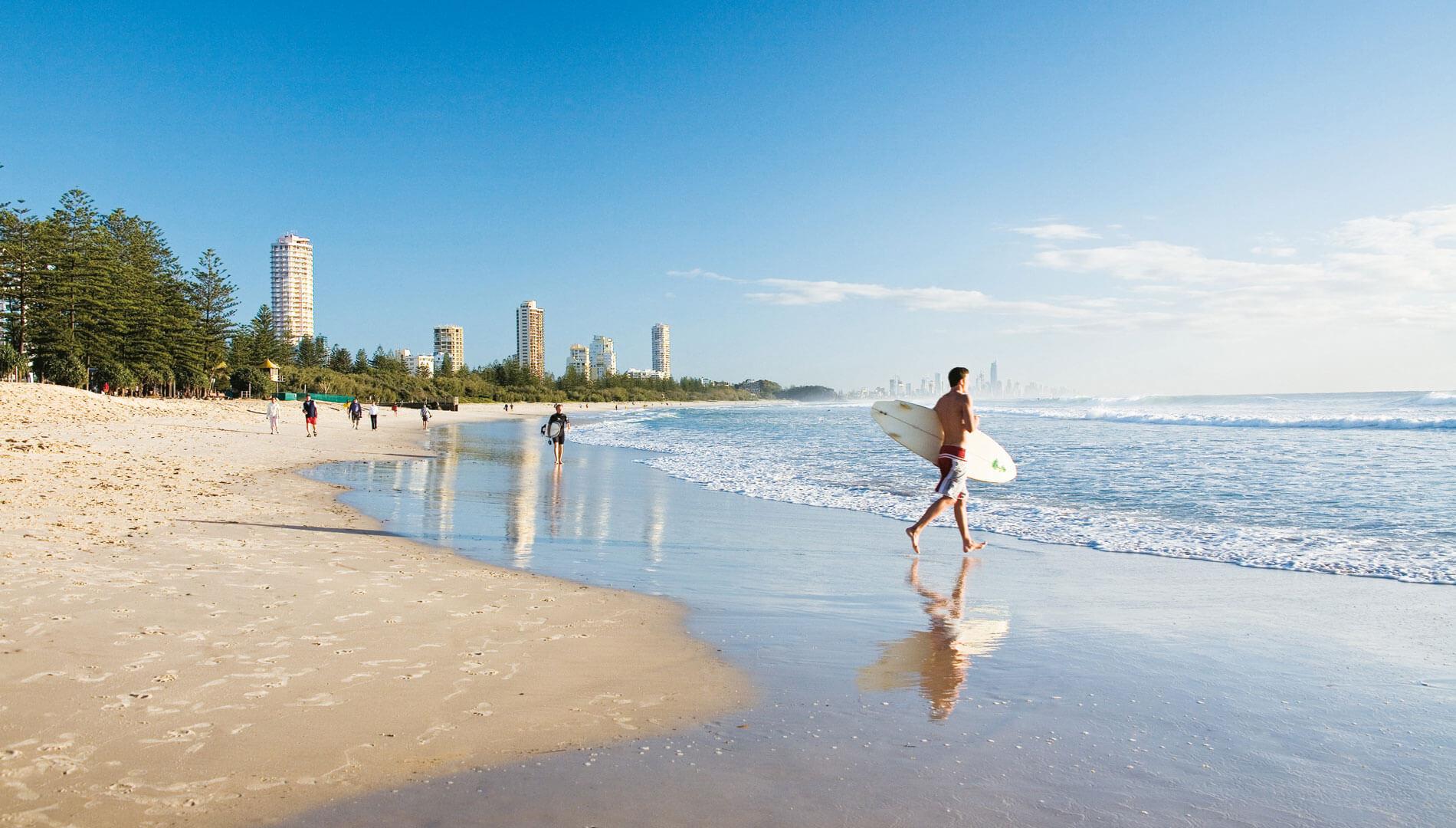 Пляж в Австралии