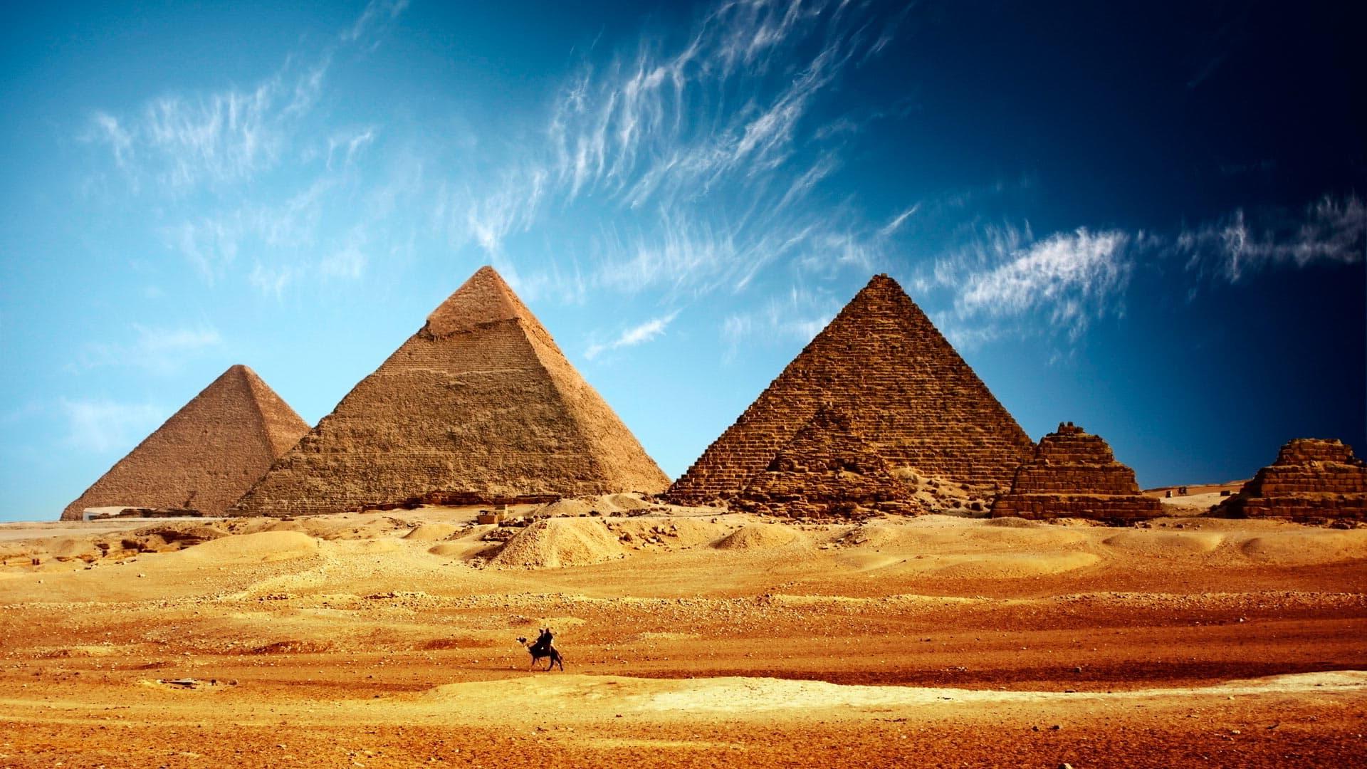 Температура воздуха в Египте в августе