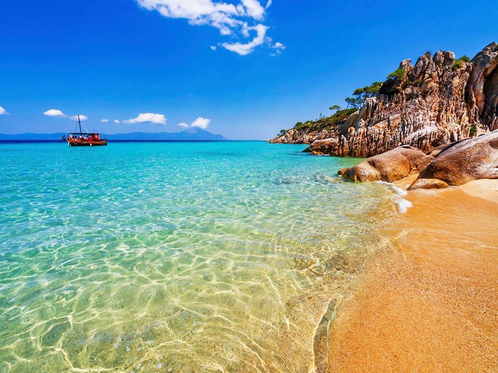 Лучшие пляжи на острове Халкидики, Греция