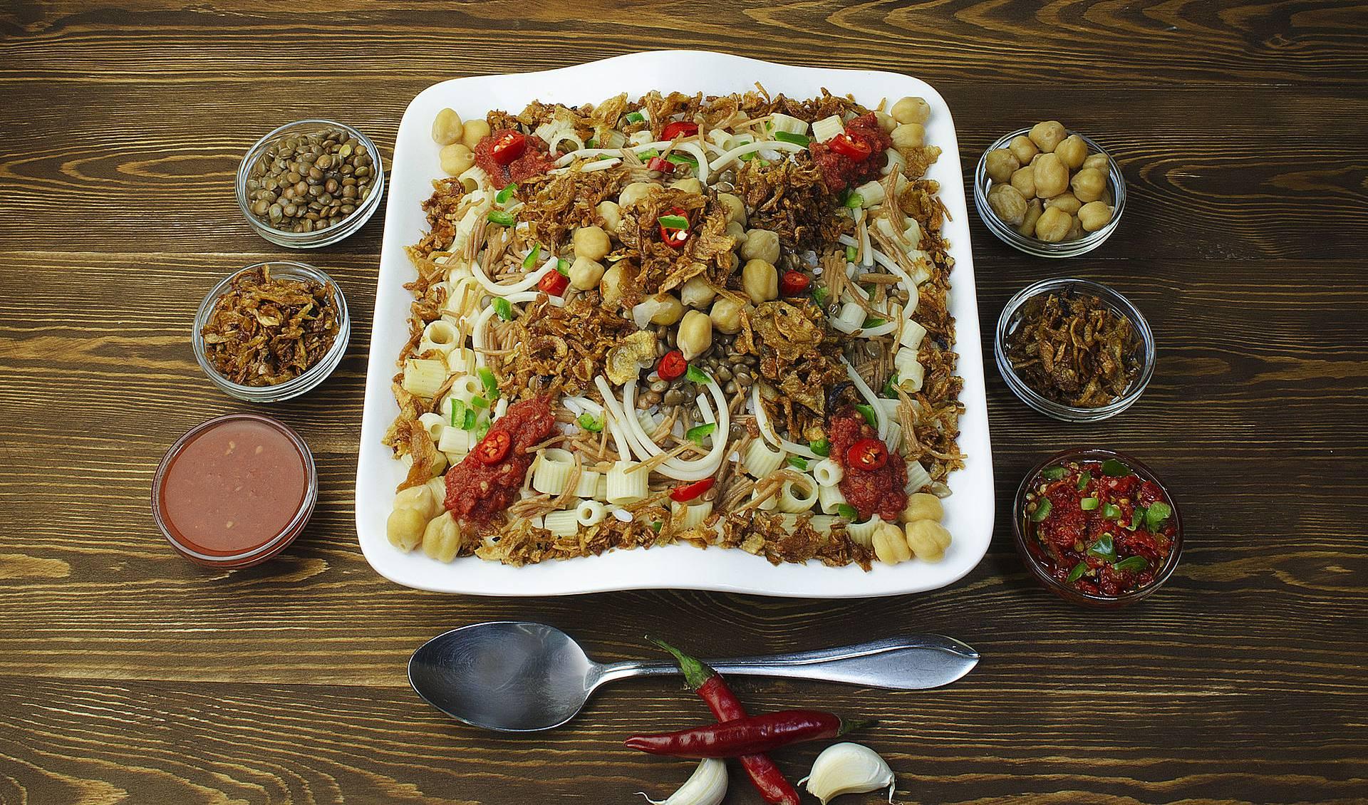 Национальное блюдо - Кошари