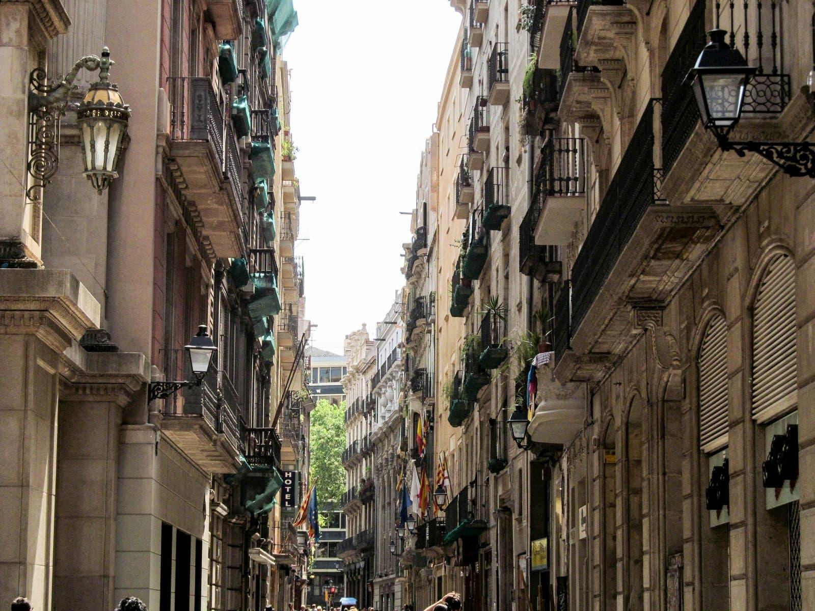 Готический квартал на карте Барселоны – описание, достопримечательности