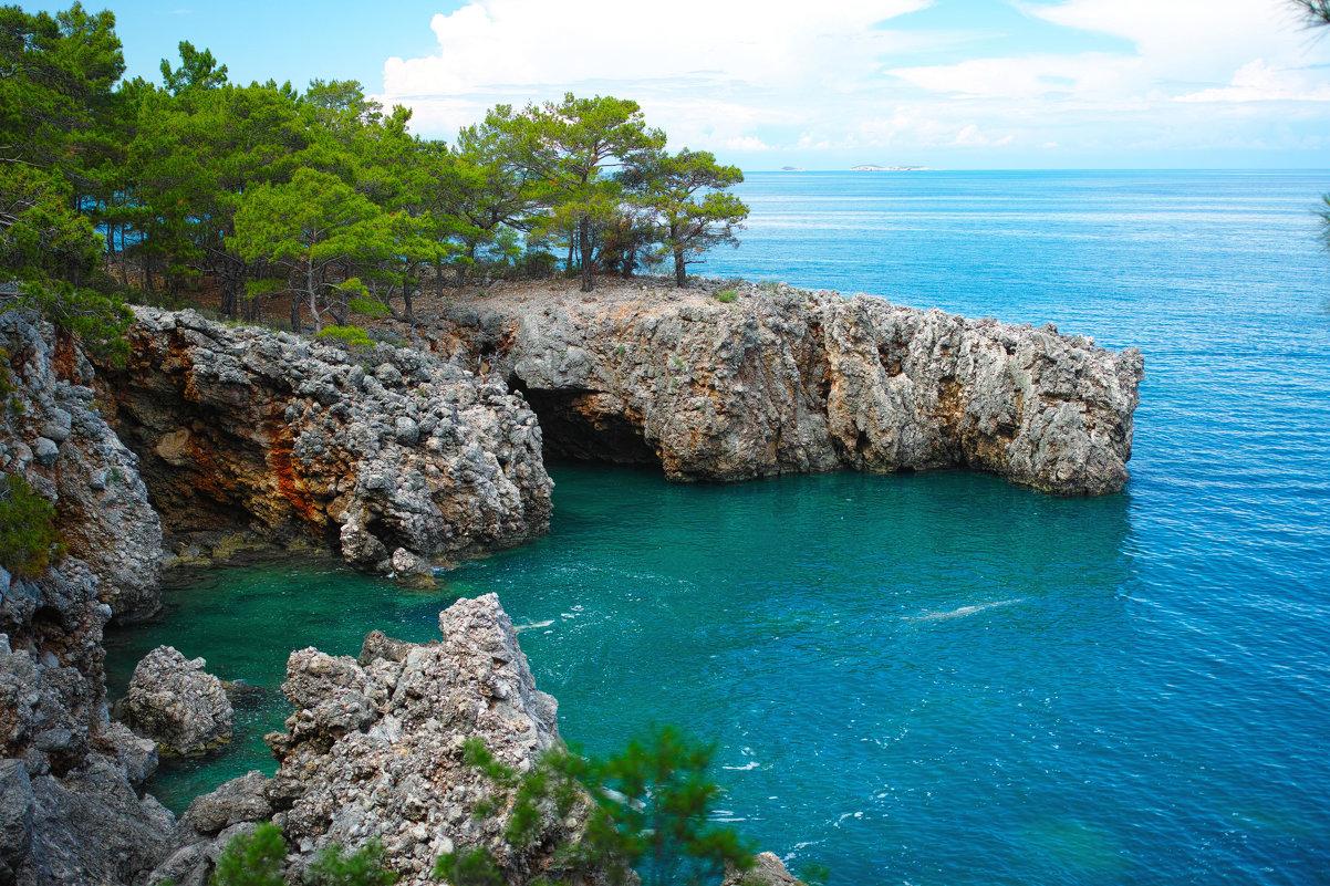 Средиземное море, Турция фото Валерий Живило