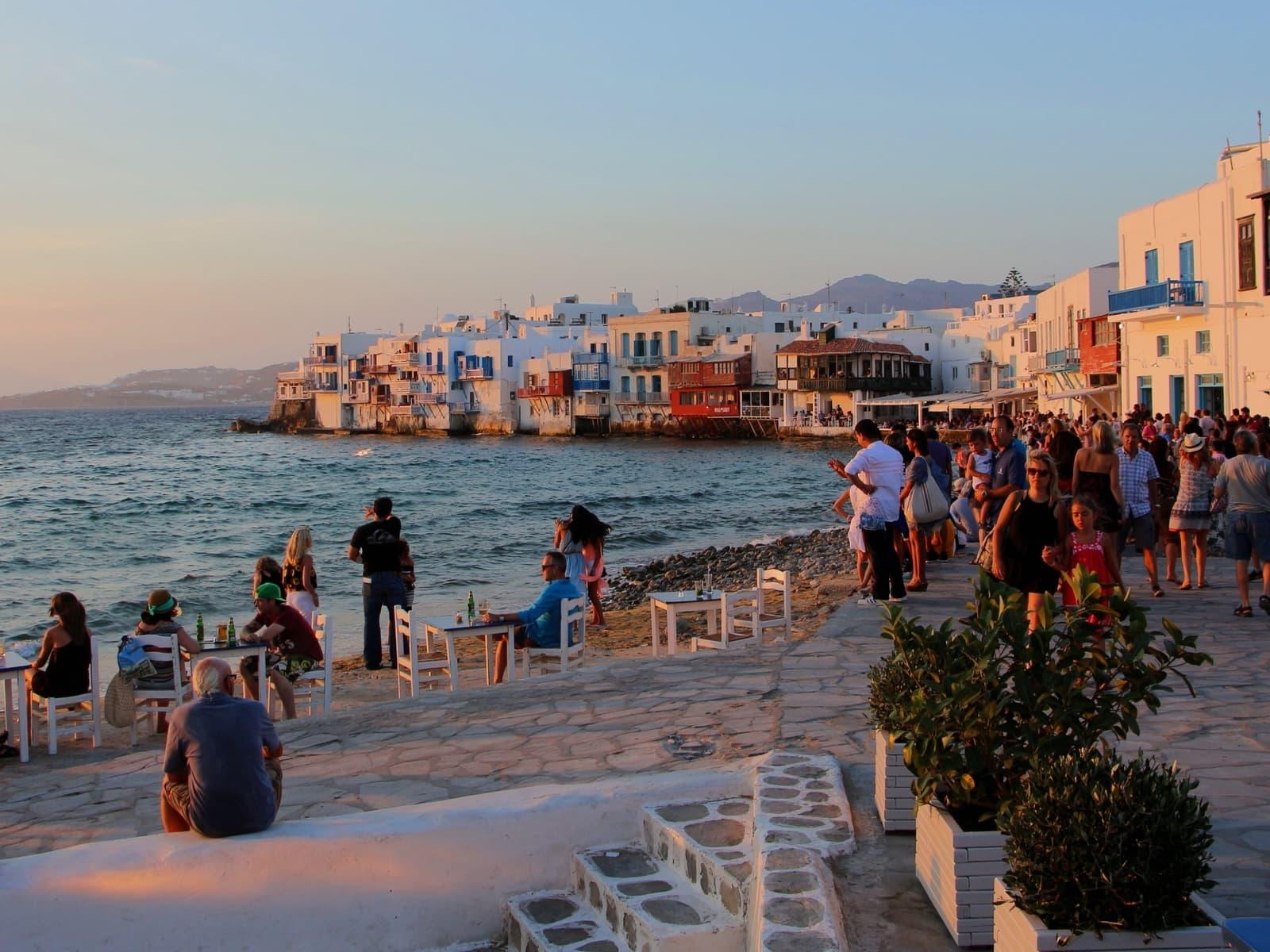 Лучшие пляжи острова Миконос, Греция