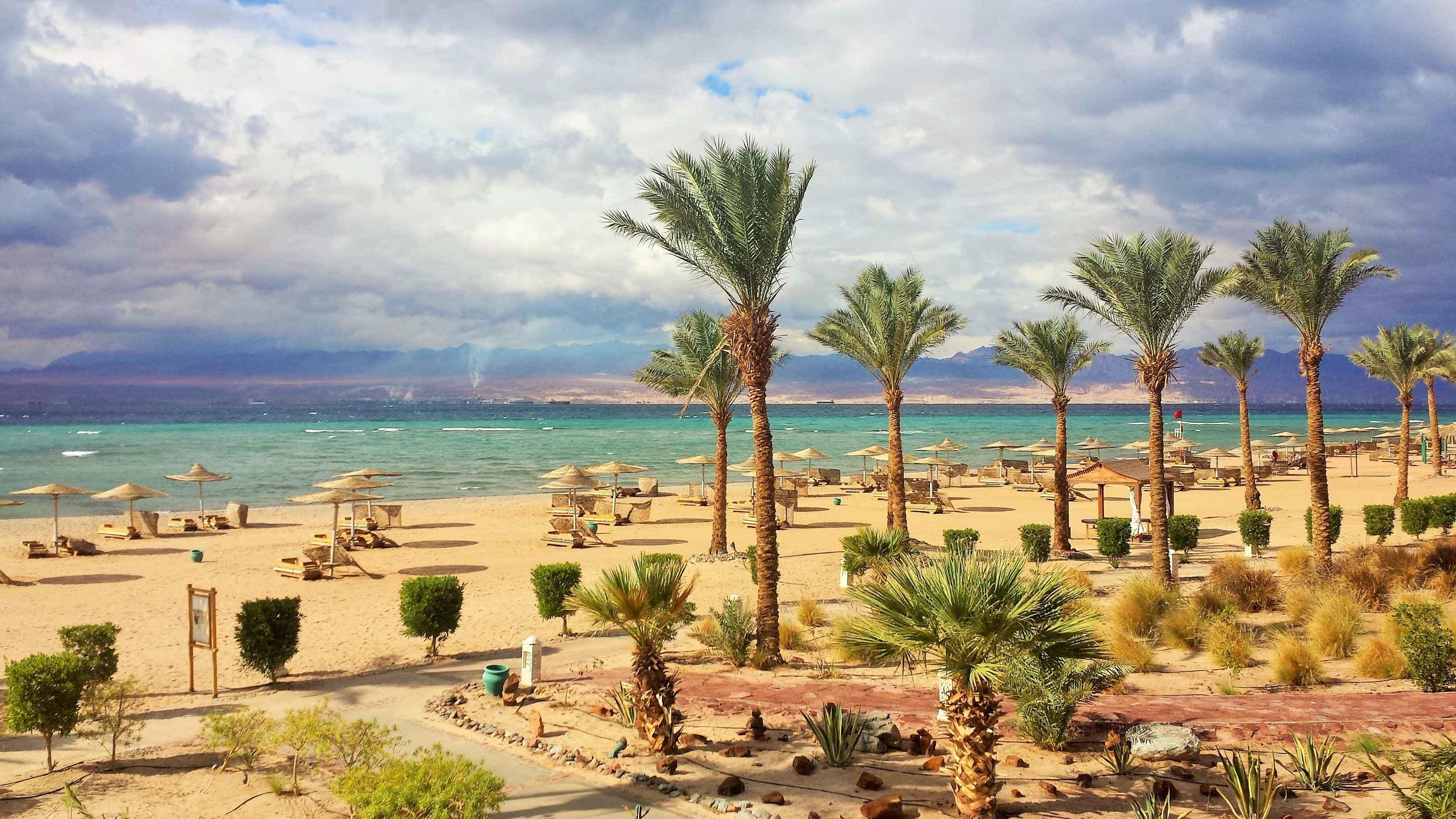 Египет пляж Таба