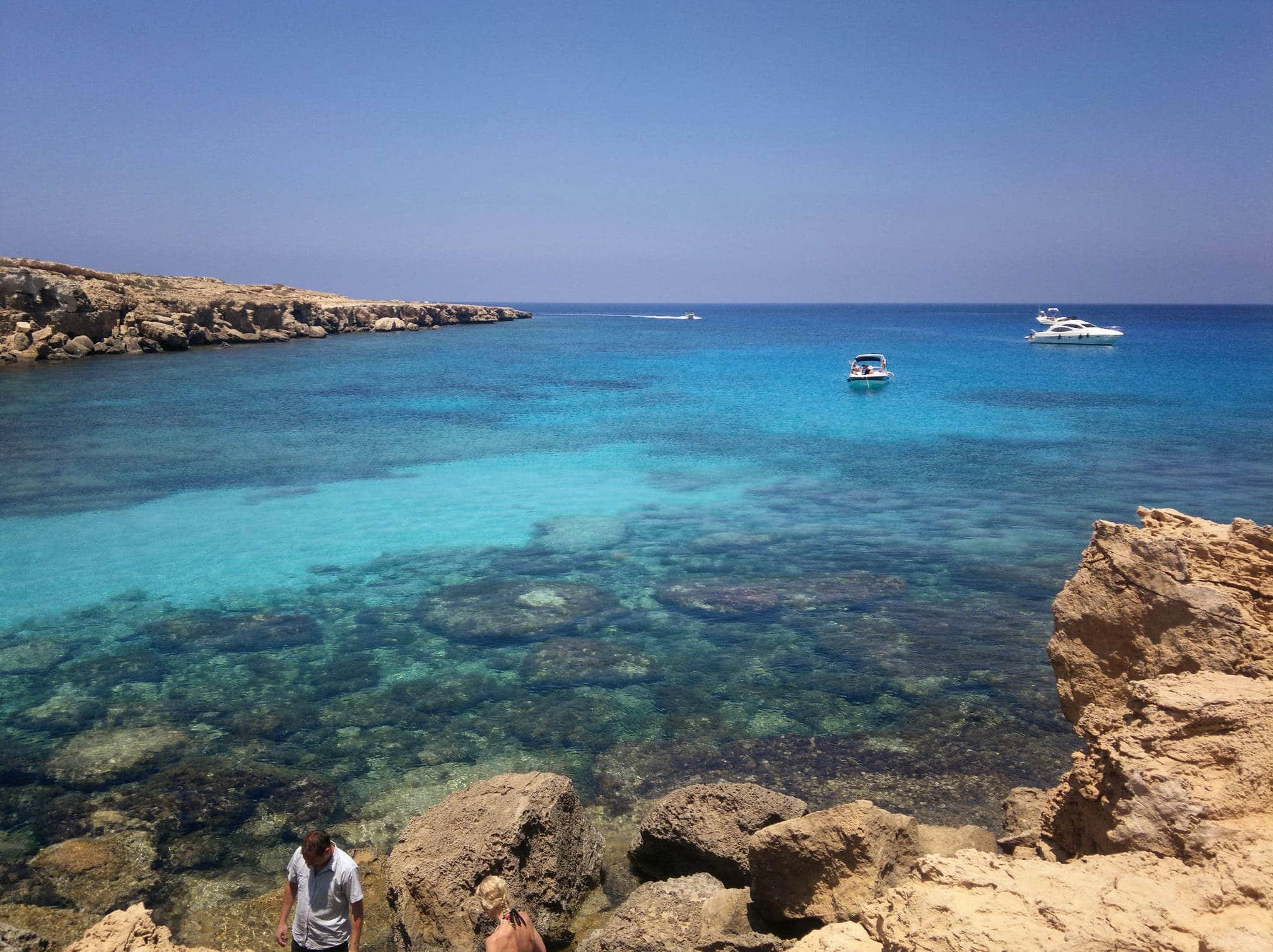 Кипр пляж Корал Бэй