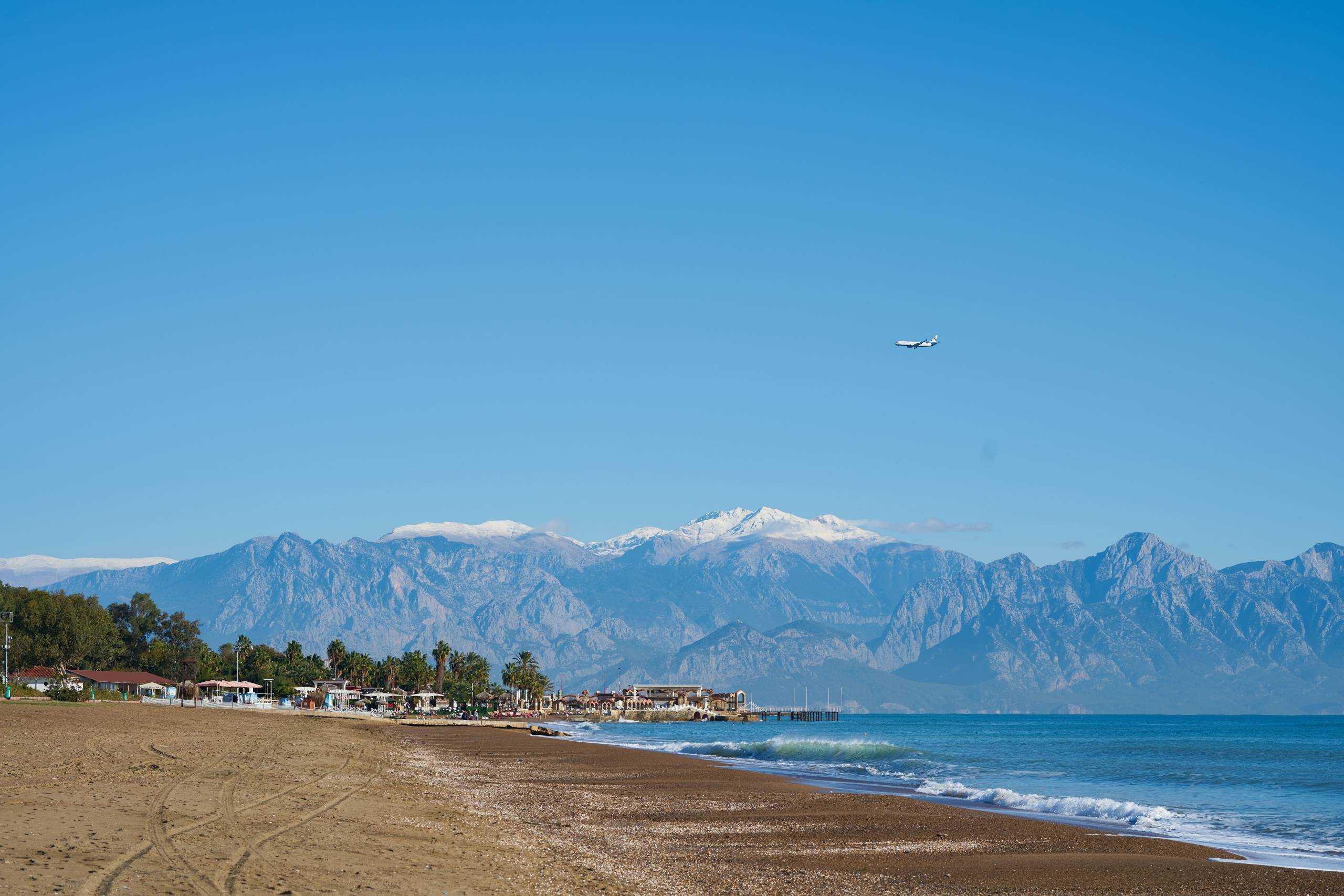 Побережье курорта Antalya