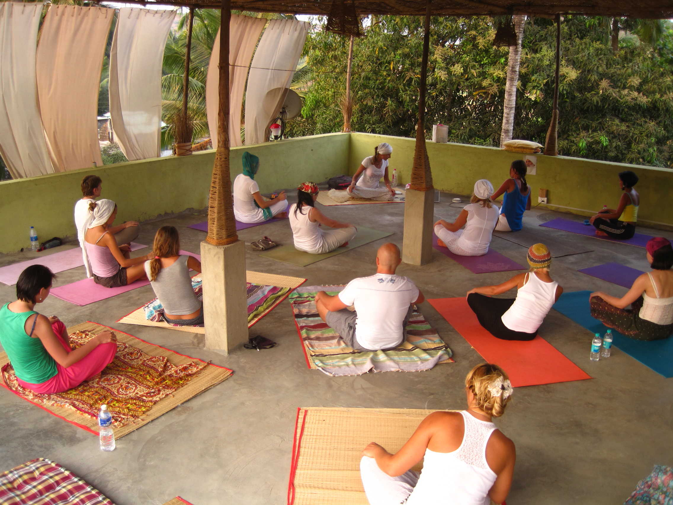 Yoga villa в Гоа
