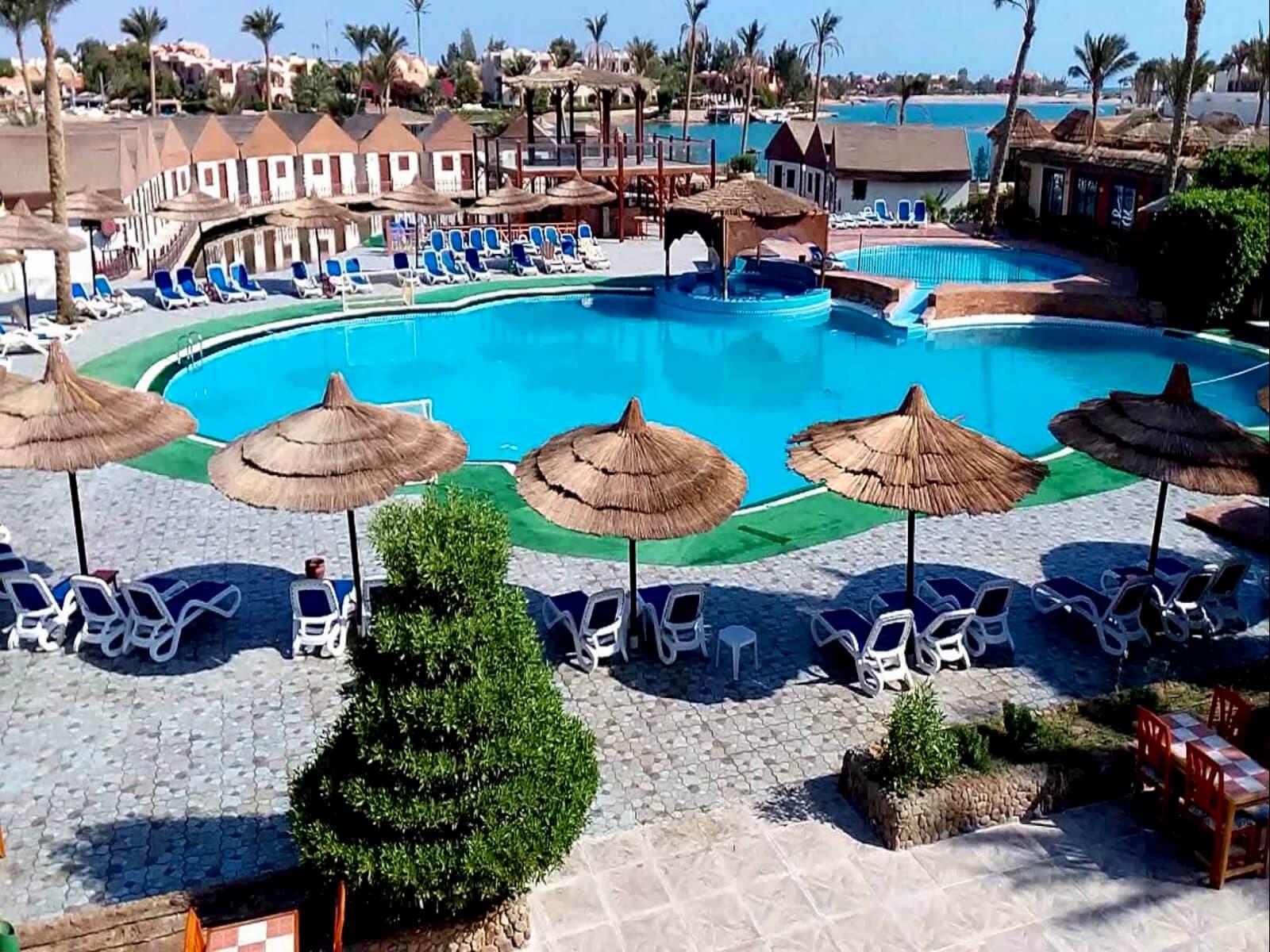 Карта курортов Египта
