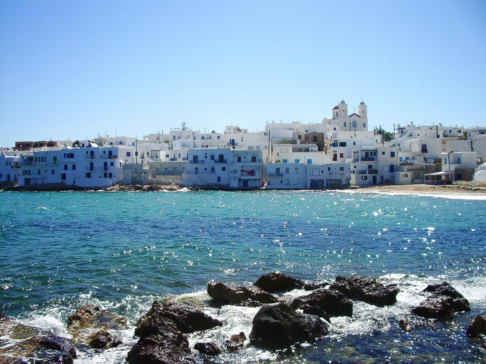 Лучшие пляжи Пароса, Греция