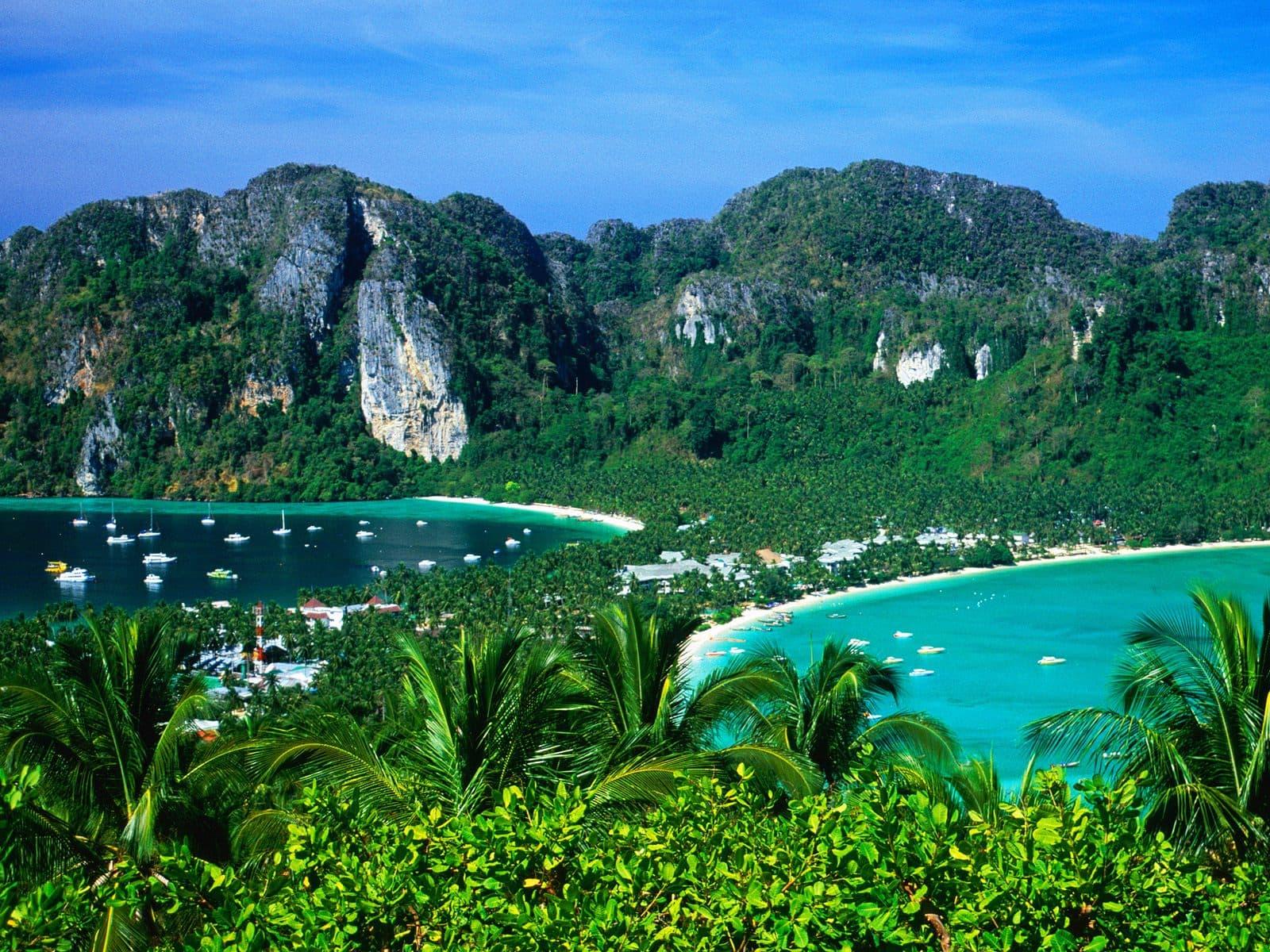 Карта курортов Таиланда