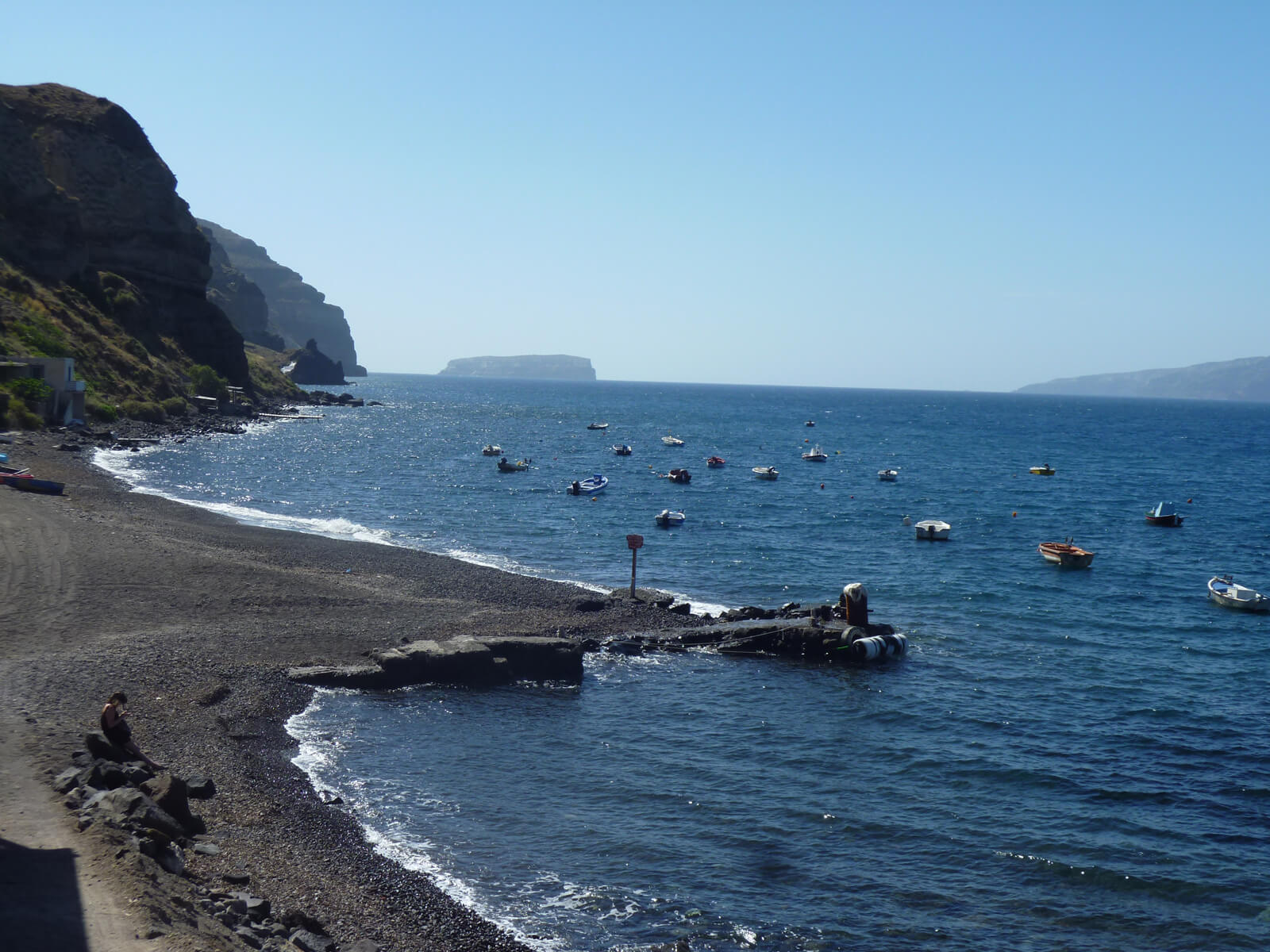 Лучшие пляжи на острове Санторини